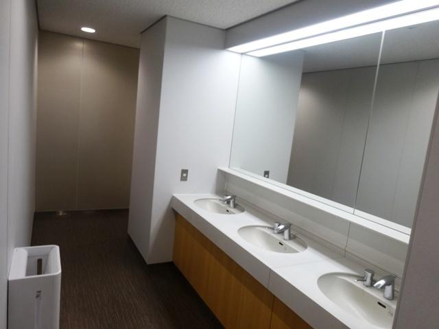 品川シーサイドパークタワーのトイレ