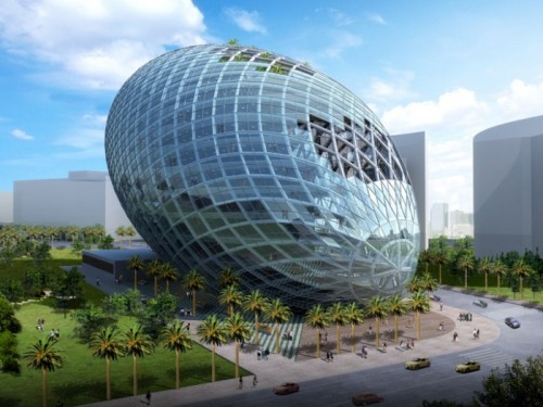 Cybertecture Egg in Mumbai (10940)