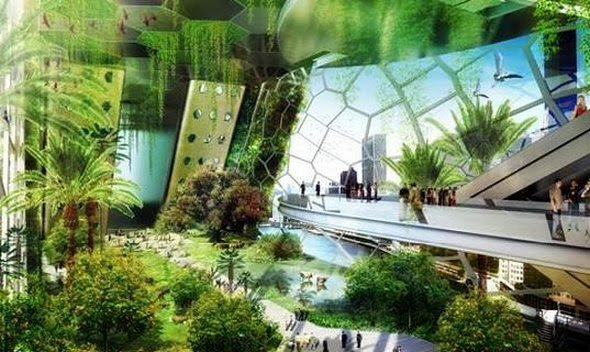 Top 10 incredible buildings From The Future around the world ~ Kin Paradise (10949)