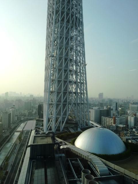 東京スカイツリー イーストタワー眺望