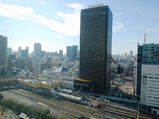 汐留ビルより浜松町駅