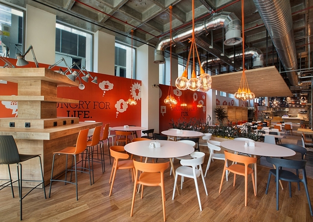 ING Bank Canteen - Istanbul - Office Snapshots (12391)