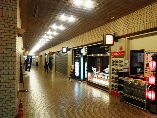 小田急第一生命ビル地下の店舗街