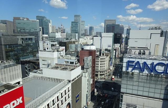 GINZA SIX 屋上からの眺望