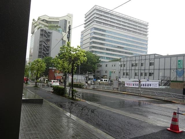 PMO渋谷 ビル前の風景