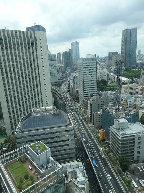 赤坂インターシティAIR 眺望
