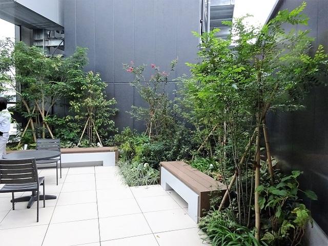 エンパイヤビル 屋上庭園
