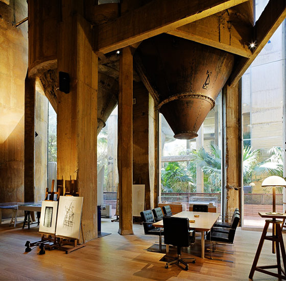 A Former Cement Factory- The New Workspace and Residence of Ricardo Bofill (17667)