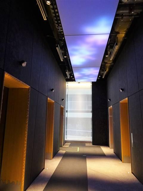 G-BASE田町 エレベーターホール