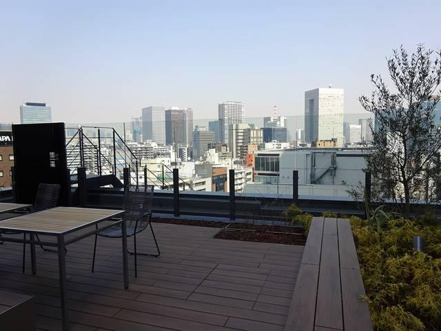 PMO田町東 屋上庭園