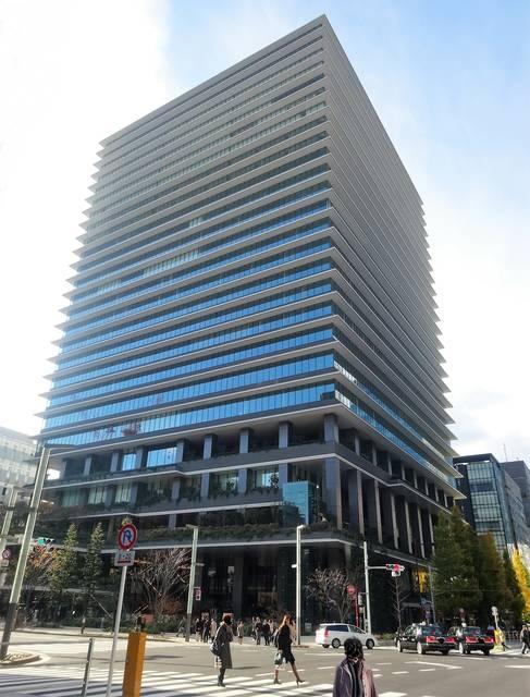 東京スクエアガーデン外観