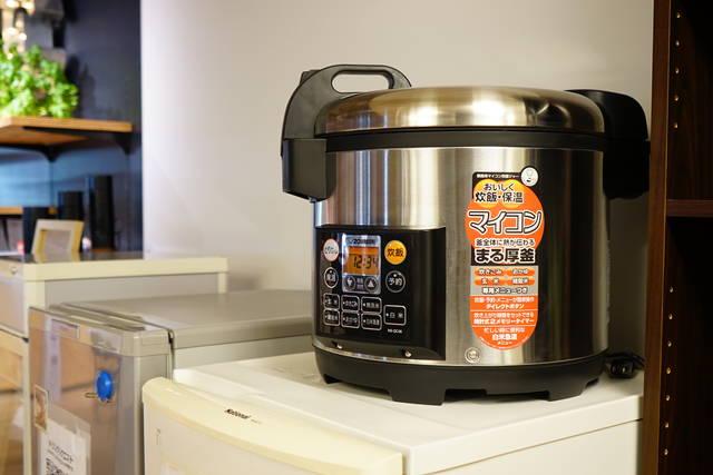 2升炊ける大型の炊飯器