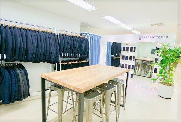 社内に設けれらた擬似店舗。来客との会話のきっかけになることも