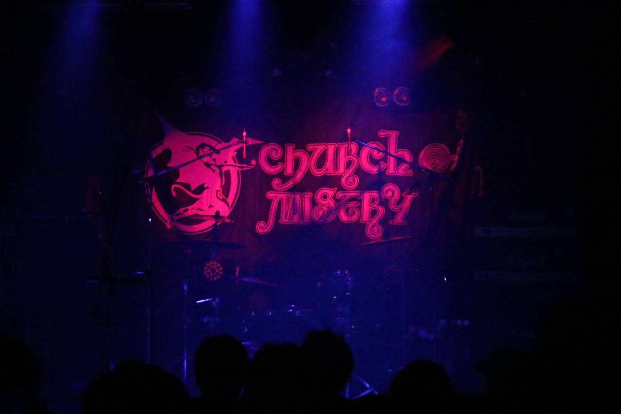 CHURCH OF MISERY ワンマン・ライブ・レポート!