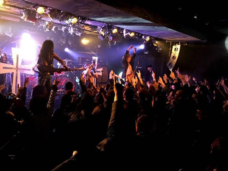 CROWLEY TOUR 2018「地獄のクリスマス」ライブ レポート