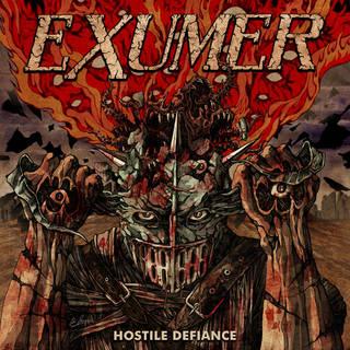 独米混合スラッシュメタル5th EXUMER『Hostile Defiance』
