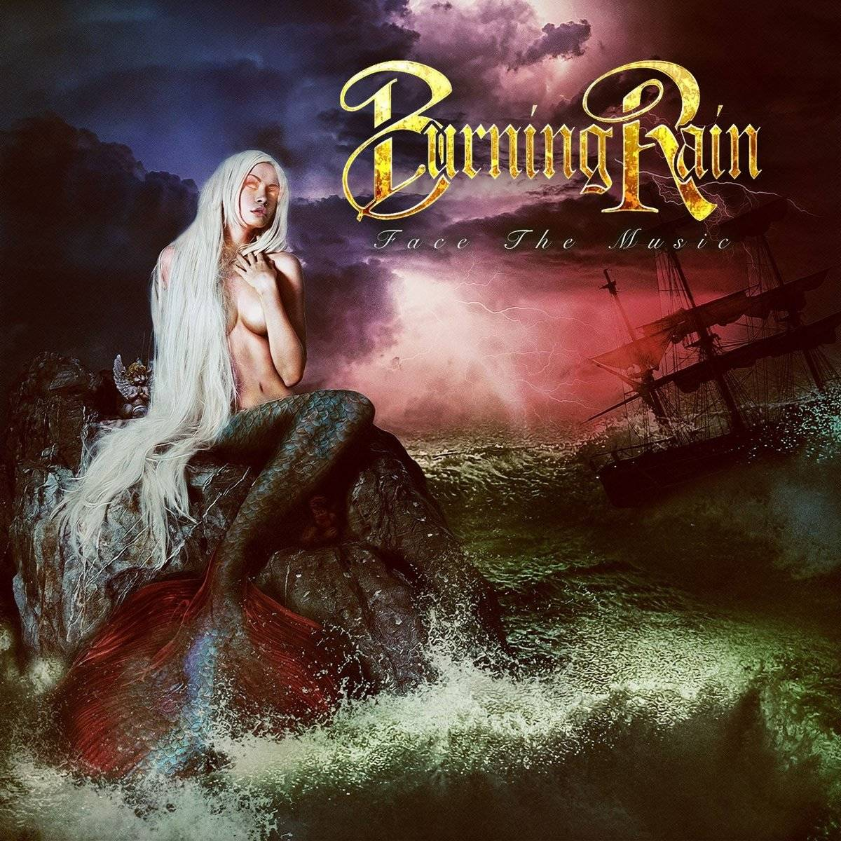 BURNING RAIN『Face The Music』