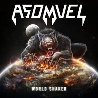 英国産暴走ロックトリオ3rd ASOMVEL『World Shaker』