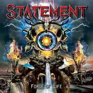 デンマーク産ハードロック3rd STATEMENT『Force Of Life』