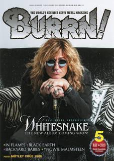 『BURRN!』2019年5月号、巻頭特集はWHITESNAKE!