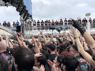 世界最大にして最強のメタル・クルーズ『70000TONS OF METAL』体験記 最終日