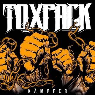 独ベルリン発メタル/パンク9th TOXPACK『Kämpfer』