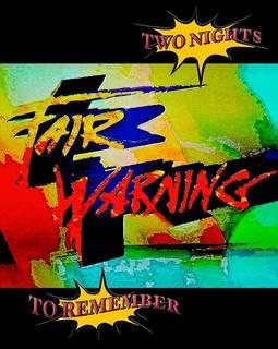 25周年を祝った特別な一夜を収録した最新ライヴ作 FAIR WARNING『TWO NIGHTS TO REMEMBER』