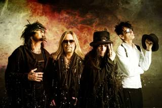 "MÖTLEY CRÜEが""Take Me To The Top""の新MVを公開"