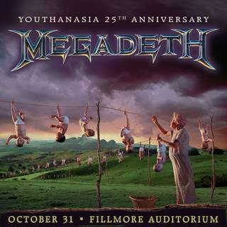 MEGADETH『Youthanasia』発売25周年を記念し完全再現ライヴ開催