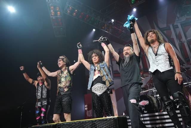 "『LOUDNESS JAPAN TOUR 2019 ""HURRICANE EYES + JEALOUSY""』ツアー最終日@Zepp Tokyo"