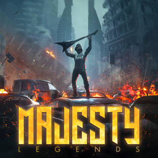 独ヘヴィ・メタル9th MAJESTY『Legends』