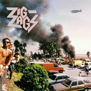 LA産爆走ロックンロール/メタルパンク・トリオ3rd ZIG ZAGS『They'll Never Take Us Alive』