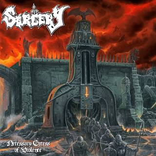 スウェーデン産デスメタル4th SORCERY『Necessary Excess Of Cruelty』