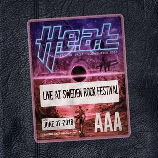 スウェーデンを代表するメロハーバンドのライヴ作品 H.E.A.T『Live At Sweden Rock Festival』