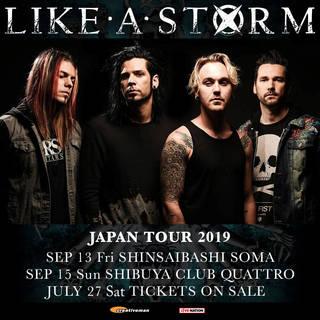 LIKE A STORM JAPAN TOUR 2019