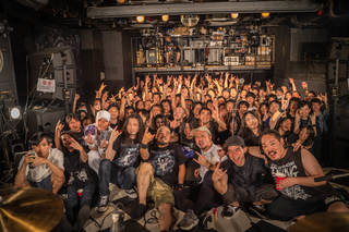 "国内最前線で活躍するデスラッシュの救世主、THOUSAND EYES Presents ""BLOODY SALVATION"" with HONE YOUR SENSE @Shibuya Cyclone"