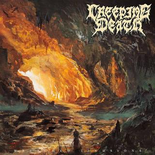 テキサス発オールドスクールデスメタル1st CREEPING DEATH『Wretched Illusions』