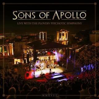 凄腕揃いのスーパーバンドによるライヴ作品 SONS OF APOLLO『Live With The Plovdiv Psychotic Symphony』