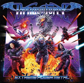 『レトロ・フューチャー』がテーマの新作 DRAGON FORCE『Extreme Power Metal』