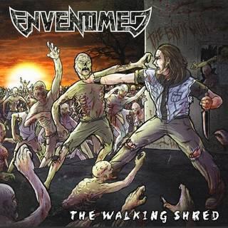 メルボルン発スラッシュ・メタル2nd ENVENOMED『The Walking Shred』