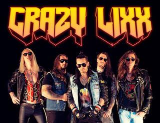 """80年代のLAメタル・サウンドを現代に踏襲するロック・バンド、CRAZY LIXX初来日公演 """"FREEDOM FORCES"""" Japan Tour 2019"""