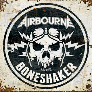 豪ハードロック・バンド5th AIRBOURNE『Boneshaker』