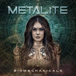 ストックホルム発メロディック・パワーメタル2nd METALITE『Biomechanicals』