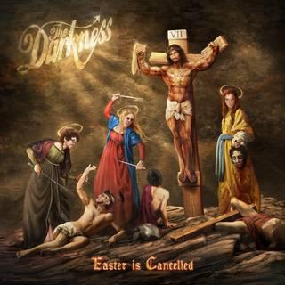 全英トップ10ヒットを記録した前作に続く6th THE DARKNESS『Easter is Cancelled』