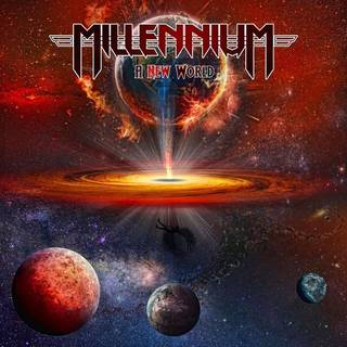 英ビリンガム発ヘヴィ・メタル4th MILLENNIUM『A New World』