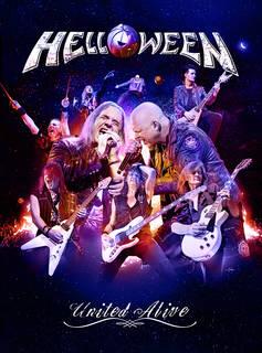 カイ・ハンセンとマイケル・キスクを加えた7人編成で行われた「PUMPKINS UNITED WORLD TOUR」映像作品 HELLOWEEN『UNITED ALIVE』