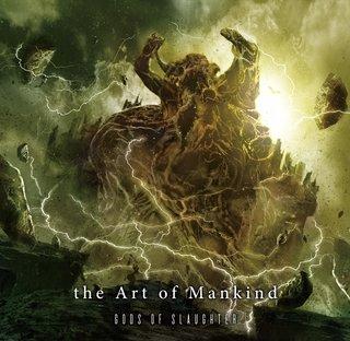 哀しみを纏い激走するメロデス6曲入ミニアルバム the Art of Mankind『Gods of Slaughter』