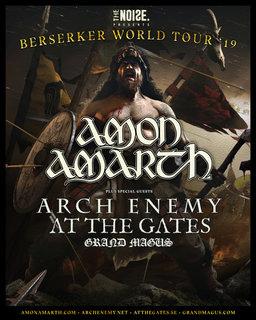 """スウェーデンのメロディック・デス/ヴァイキング・メタルの重鎮AMON AMARTH が""""Shield Wall""""のミュージック・ビデオを公開"""