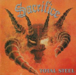 伝説のジャパニーズ・スラッシュメタルSACRIFICE 90年リリースの2ndが再発『TOTAL STEEL -Remaster-』