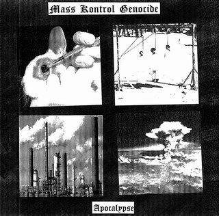 岡山産ブラックメタル最終兵器1stフル Mass Kontrol Genocide『Apocalypse』